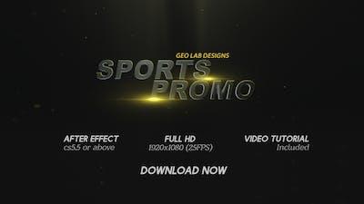 Sports Promo  l  Sports Titles  l  Sports Trailer