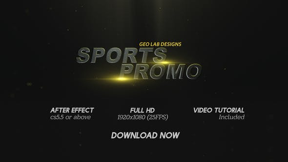 Sports Promo l Sports Títulos l Sports Trailer