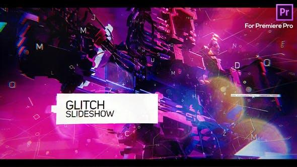 Thumbnail for Glitch Slideshow for Premiere Pro