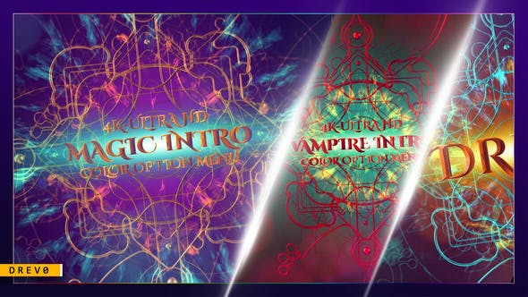 Cover Image for Magic Intro/ Elégant Particles/ Gothic Epic Metal 3D/TV/ Shockwave/ Feu Explosion/Lumière mystique