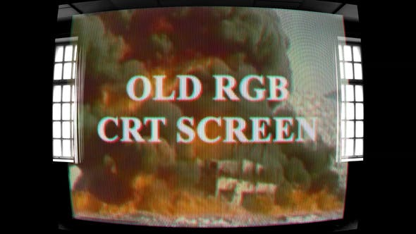 Thumbnail for Old RGB CRT Screen