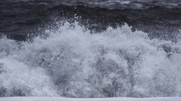 Thumbnail for Big Black Waves, Iceland