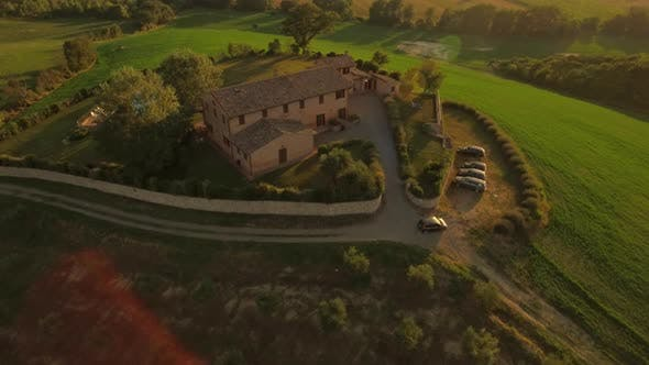 Thumbnail for Car Parking on a Holiday House in Tuscany