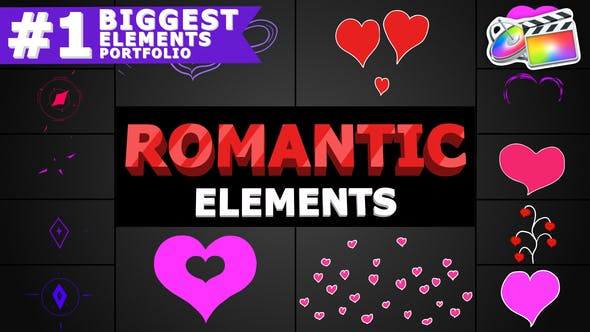 Thumbnail for Romantic Elements | FCPX