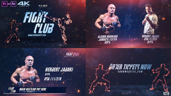 Thumbnail for Fight Club Broadcast Pack v2