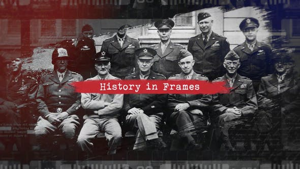 Thumbnail for Pincel History Slideshow/Retro Vintage abridor/Álbum de fotos Old Memories/Guerra Mundial