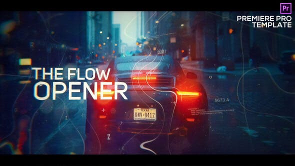 Cover Image for Digital Flow Modern Opener for Premiere Pro