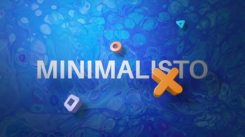 Minimalisto | Flat Titles and 3D Elements