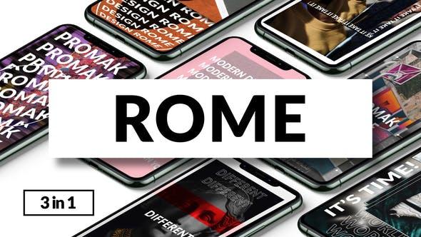 Rome | Instagram Stories