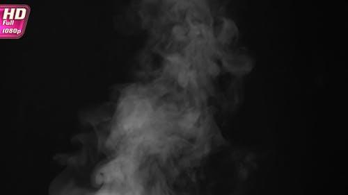 Hot Flavored Soup Exudes Steam