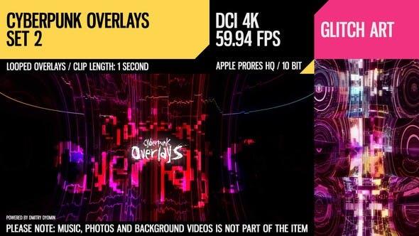 Thumbnail for Cyberpunk Overlays (4K Set 2)