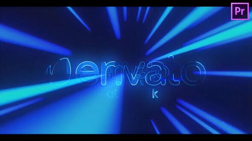 Light Tunnel Logo Reveal for Premiere Pro