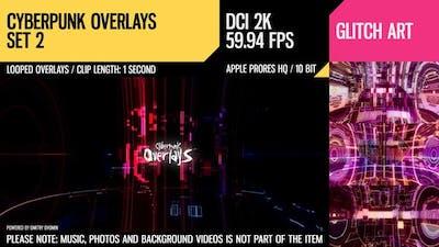 Cyberpunk Overlays (2K Set 2)