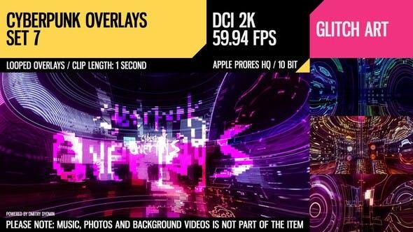 Thumbnail for Cyberpunk Overlays (2K Set 8)