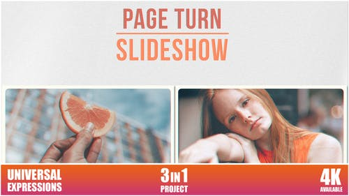 Page Turn - Slideshow