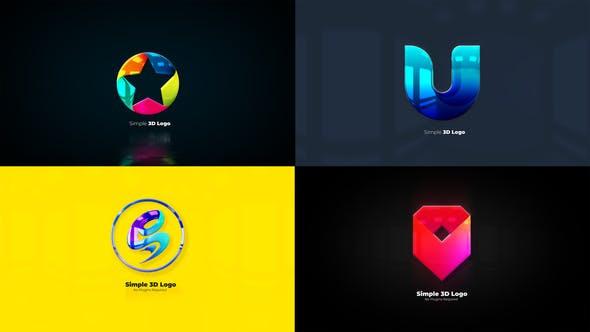 Thumbnail for Split 3D Logo Reveal Pack