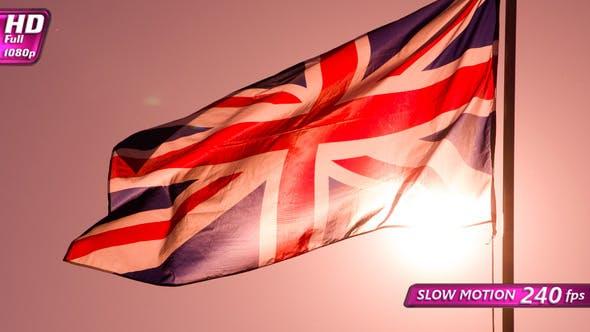 Sunlight Through The British Flag