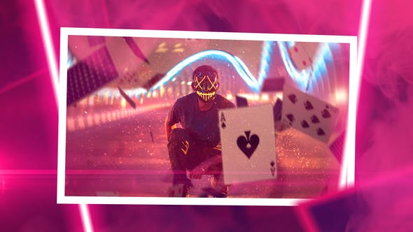 Thumbnail for Neon Slideshow