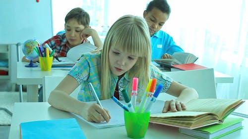 Pupils At School