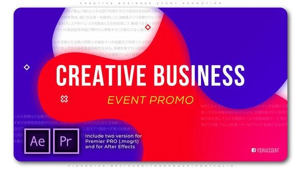 Thumbnail for Creative Business Event Promotion
