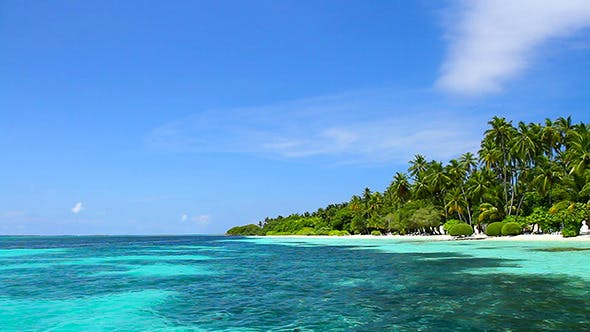 Thumbnail for Exotic Vacation Landscape At Maldives