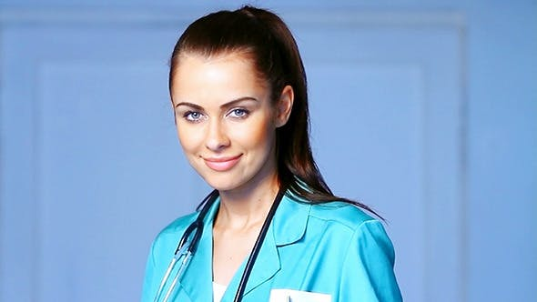 Thumbnail for Portrait Of Beautiful Female Doctor