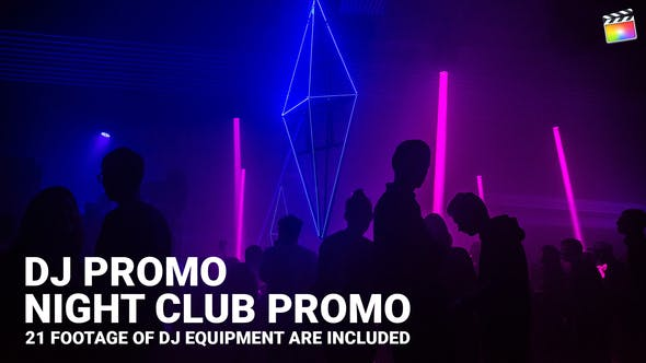 Thumbnail for DJ Promo // Night Club Promo | Pour Final Cut & Apple Motion