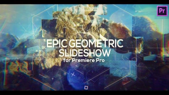 Thumbnail for Presentación geométrica épica para Premiere Pro