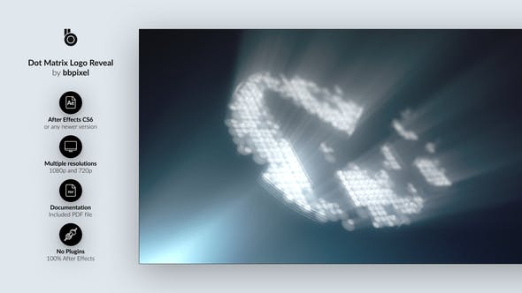 Thumbnail for Dot Matrix Logo Reveal