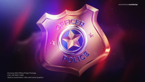 Police Badge Opener