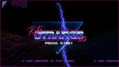 80s Retro Logo