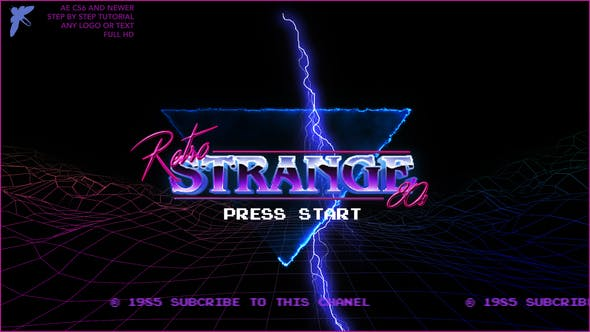 Thumbnail for 80s Retro Logo