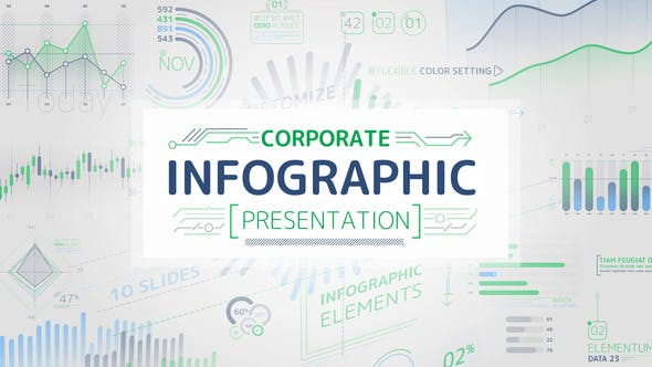 Thumbnail for Corporate Infographic Presentation