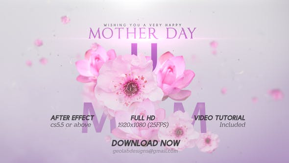 Thumbnail for Mother Day Titles l Mother Day Wishes l Mother Day Template l World Best MOM l MUM Wishes