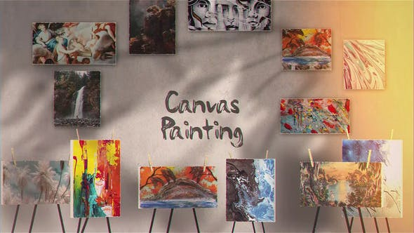 Thumbnail for Canvas Painting Gallery