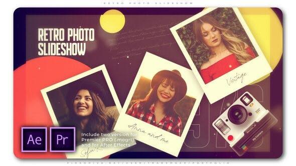 Thumbnail for Retro Photo Slideshow