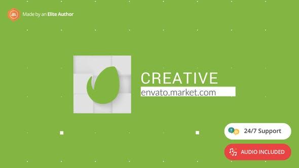Thumbnail for Modern Blocks Logo Reveal