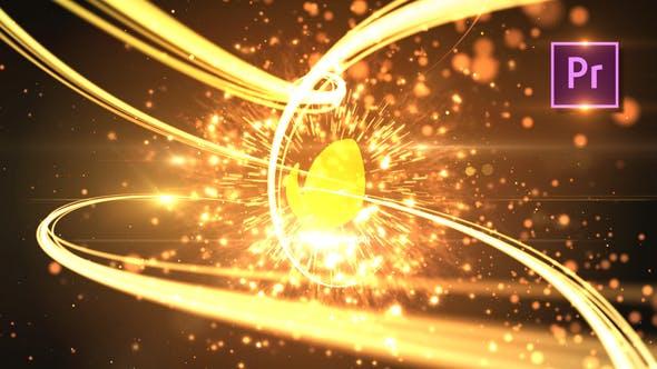 Thumbnail for Rayas Logo Revealer Premiere PRO