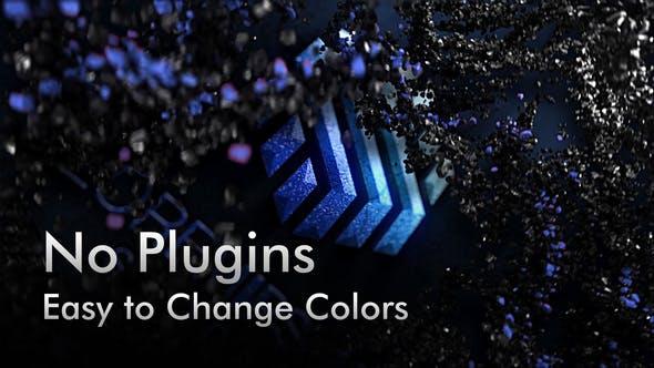 Thumbnail for Black Rock Particles. 5 Color Presets.