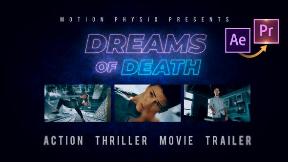 Thumbnail for Action Thriller Movie Trailer Premiere PRO