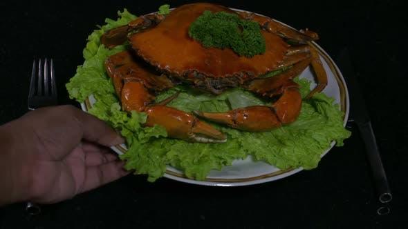 Thumbnail for Placing a Crab Dish 2