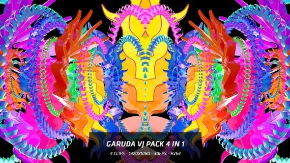 Garuda Wing Vj Pack 4 in 1