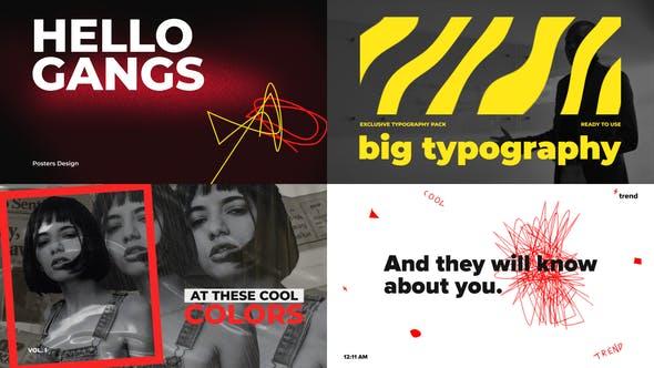 Big Bold Typography