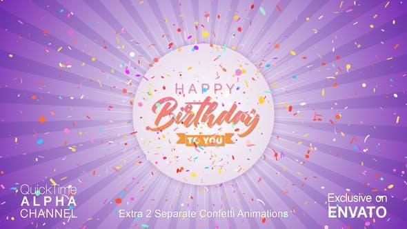 Thumbnail for Happy Birthday Celebration