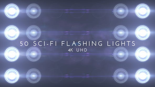 Sci Fi Flashing 50 Lights