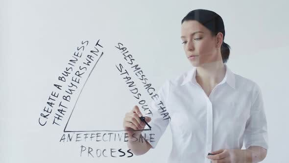 Thumbnail for Businesswoman Presenting Business Plan