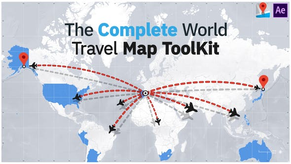 The Complete World Travel Map ToolKit