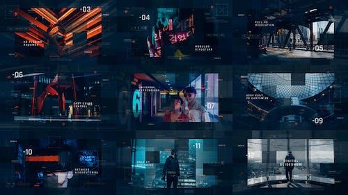 Sci-Fi Digital Slideshow / IT Technology Opener / Hi-Tech Futuristic / Corporate Presentation