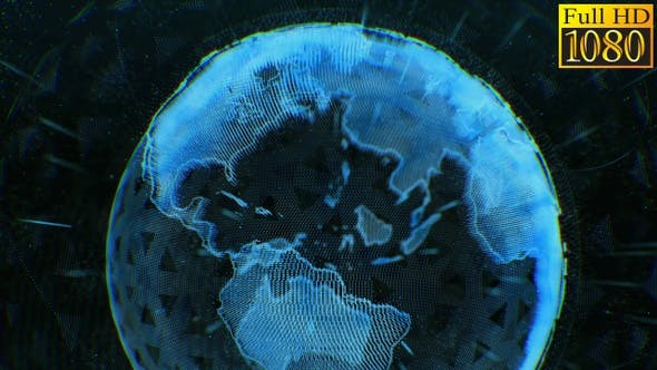 Hud Planet Earth Video Background Loops V4