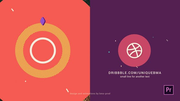 Abstract 2D Logo Animation
